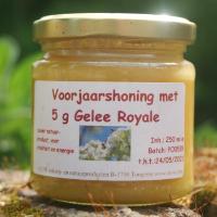 Voorjaarshoning met Gelee Royale, 250 ml.